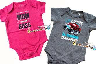 All Occasion Baby Statement Bodysuits Onesies
