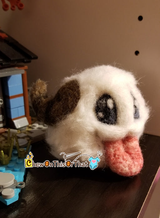 League of Legends Poro Needle Felted Plush Figure - Chew On This Or That