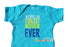 Coolest Nephew Ever Personalized Blue Statement Bodysuit - New Baby Gift from Aunt or Uncle - Chew On This Or That