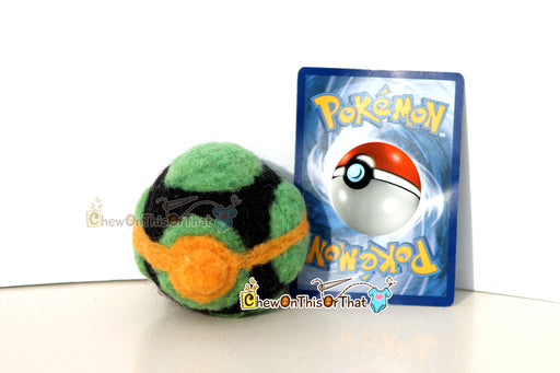 Pokemon Dusk Ball Needle-Felted Plush Figure - Chew On This Or That