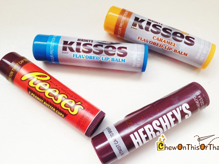 Hershey Kisses Chocolate Flavor Lip Balm by Lotta Luv Beauty - Chew On This Or That
