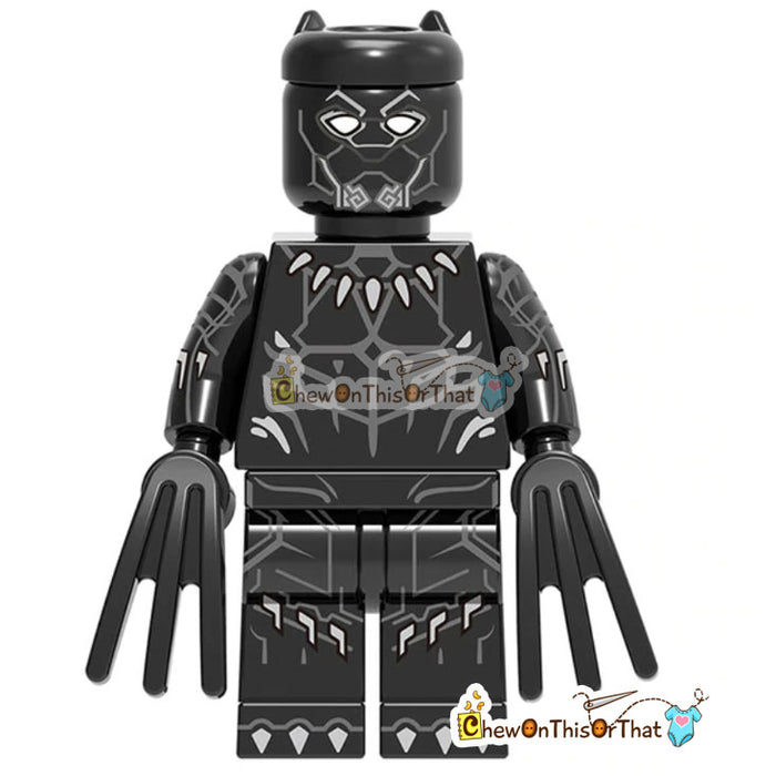 Marvel Black Panther Movie Lego Custom Collectible Toy - Chew On This Or That