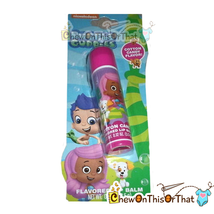 Bubble Guppies Cotton Candy Lip Balm by Lotta Luv - Chew On This Or That