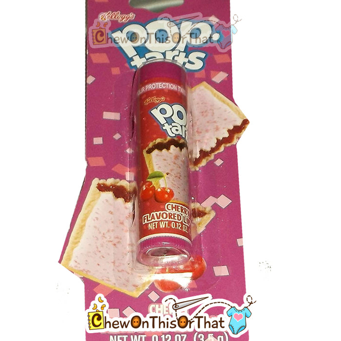 Pop Tarts Cherry Flavored Lip Balm by Lotta Luv Picnic Pals - Chew On This Or That