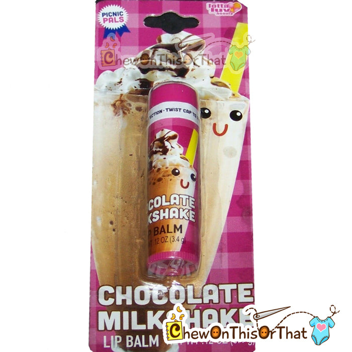Chocolate Milkshake Flavored Lip Balm by Lotta Luv Picnic Pals - Chew On This Or That