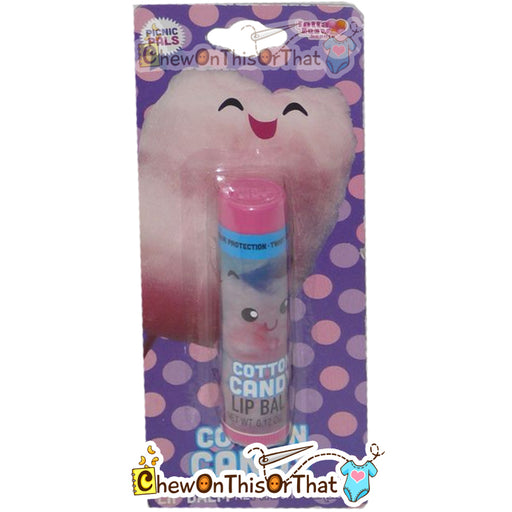Cotton Candy Flavored Lip Balm by Lotta Luv Picnic Pals - Chew On This Or That
