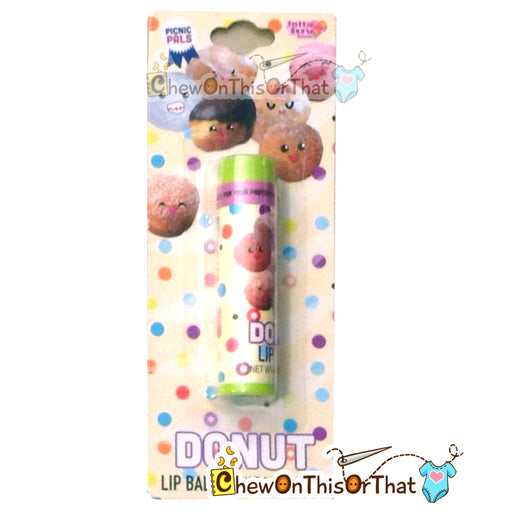 Donut Flavored Lip Balm by Lotta Luv Picnic Pals - Chew On This Or That