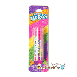 Rainbow Nerds Candy Flavored Lip Balm by Lotta Luv Beauty and Cosmetics - Chew On This Or That