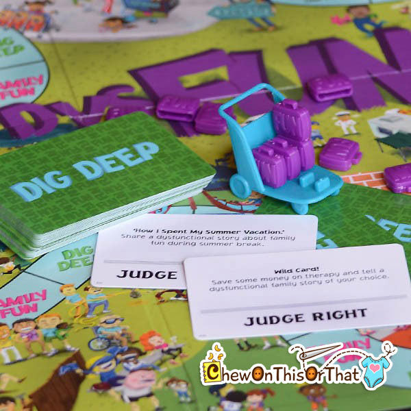 DysFunction the Board Game - Ideal Party Game for Game Night - Chew On This Or That