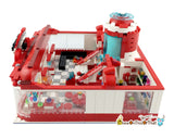 Pokemon Center Custom Lego Set with Pets & Minifigures - Bokomon Generation Pet Elf Center, Decool Series 18001 Toy Block Set, Pokemon Go