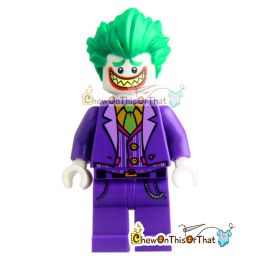 Joker Lego Minifigure Custom Collectible Toy - Chew On This Or That