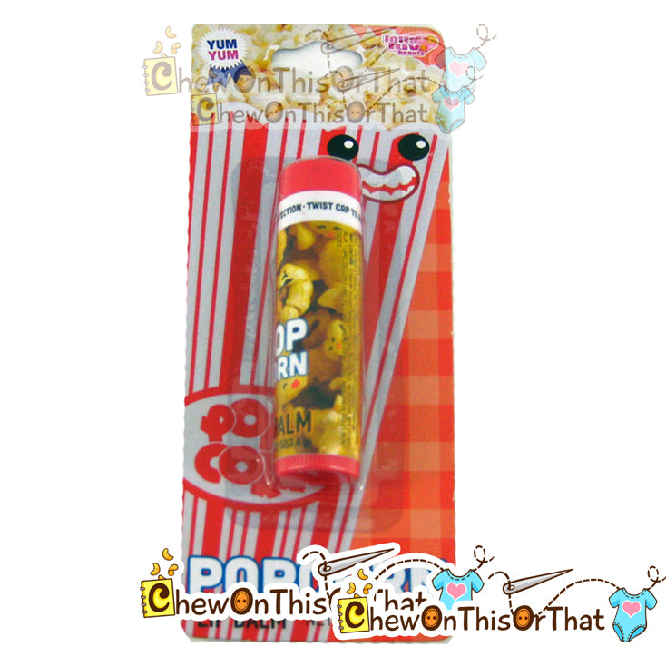 Popcorn Flavored Lip Balm by Lotta Luv Picnic Pals - Chew On This Or That