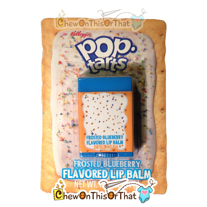 Pop Tarts Frosted Blueberry Flavored Lip Balm by Lotta Luv Picnic Pals - Chew On This Or That