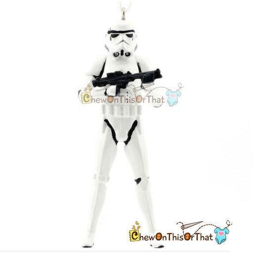 Star Wars Personalized Storm Trooper Ornament - Chew On This Or That