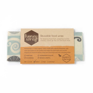 Honey Wrap Organic Food Wraps Medium