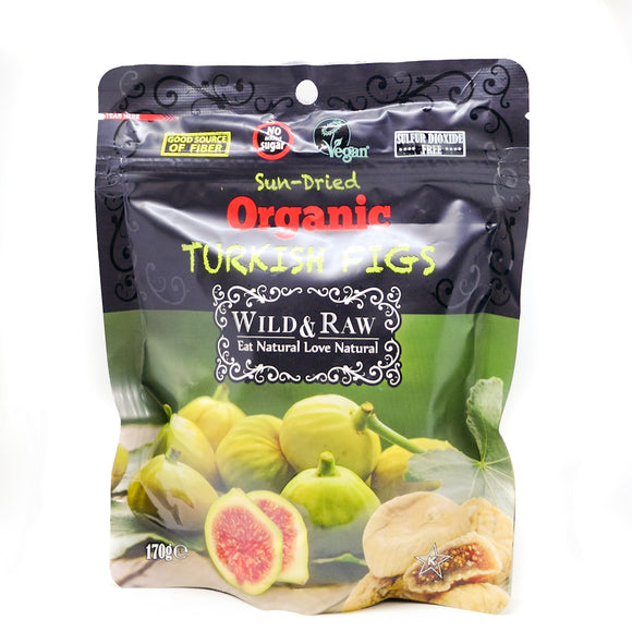 Wild & Raw Sun-dried Fruit Range Organic