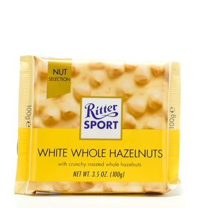 Ritter Sport White Whole Almonds 100gr