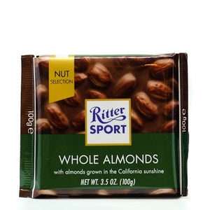 Ritter Sport Whole Almonds 100gr