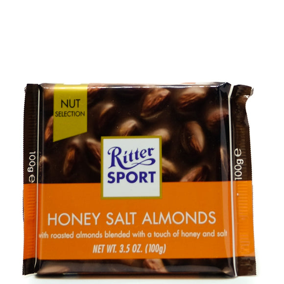 Ritter Sport Honey Salt Almonds 100gr