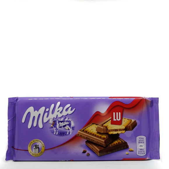 Milka Chocolate LU 167gr