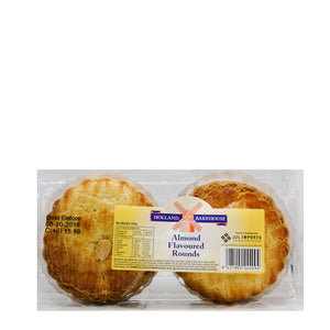 Holland Bakehouse Almond Flavoured Rounds 280gr
