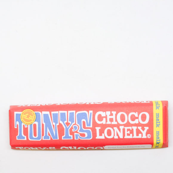 Tony's Chocolonely Milk Chocolate Bar 50gr
