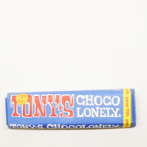 Tony's Chocolonely Dark Chocolate Bar 50gr