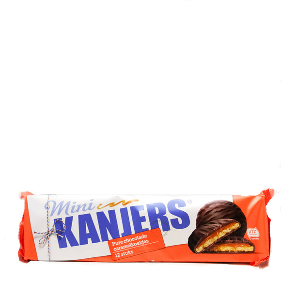 Kanjers Mini Chocolate Waffles 160gr