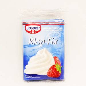 Dr. Oetker Firm Whipped Cream Sachet 40gr