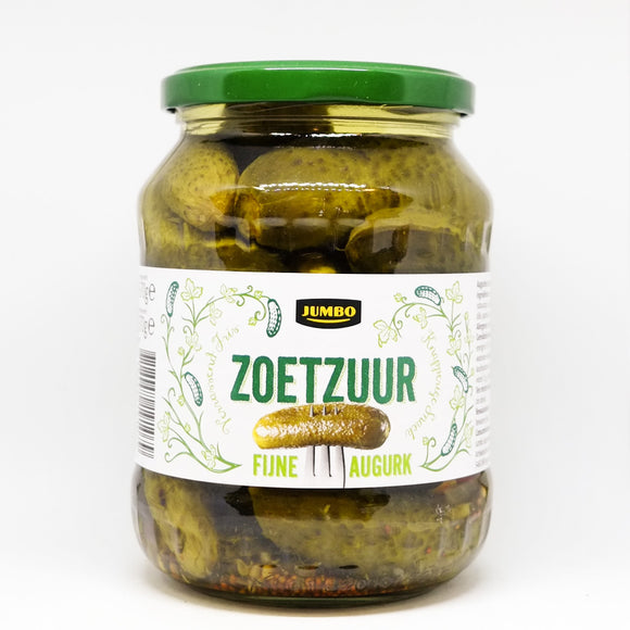 Jumbo Gherkins Sweet & Sour 670gr