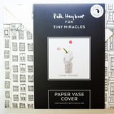 Tiny Miracles Paper Vase Cover