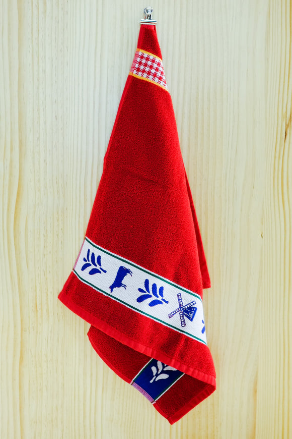 DDDDD Hand Towel Renesse Red