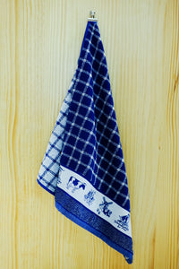 DDDDD Hand Towel Dutchie Blue Kitchen