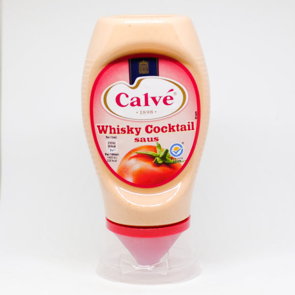 Calvé Whiskey Cocktail Sauce 250ml