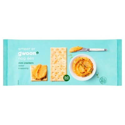 G'woon Mini Crackers 250gr