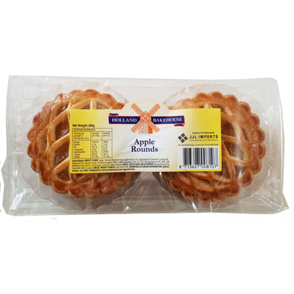 Holland Bakehouse Apple Rounds 300gr