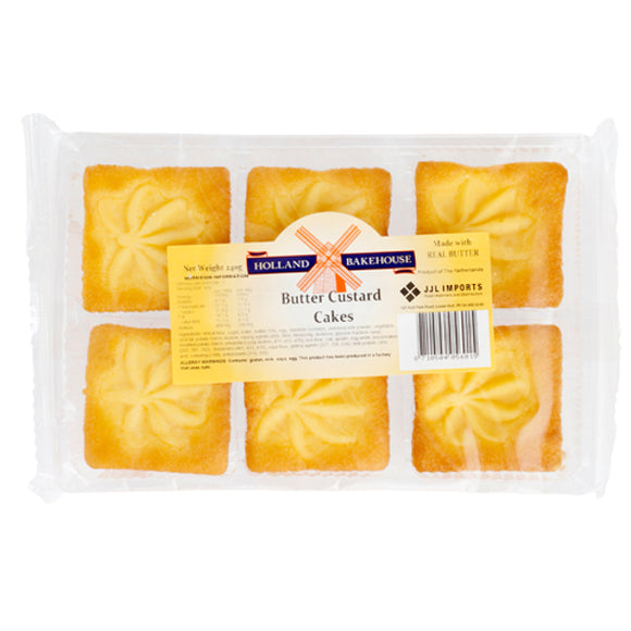 Holland Bakehouse Custard Cakes 240gr
