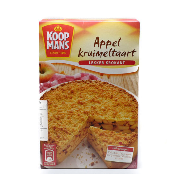 Koopmans Apple Crumble Mix 390gr
