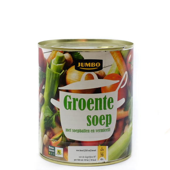 Jumbo Vegetable Soup 800ml