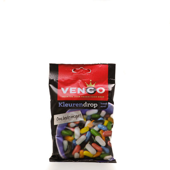 Venco Liquorice Coloured 166gr