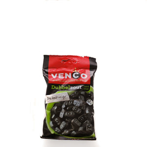 Venco Liquorice Double Salt 173gr