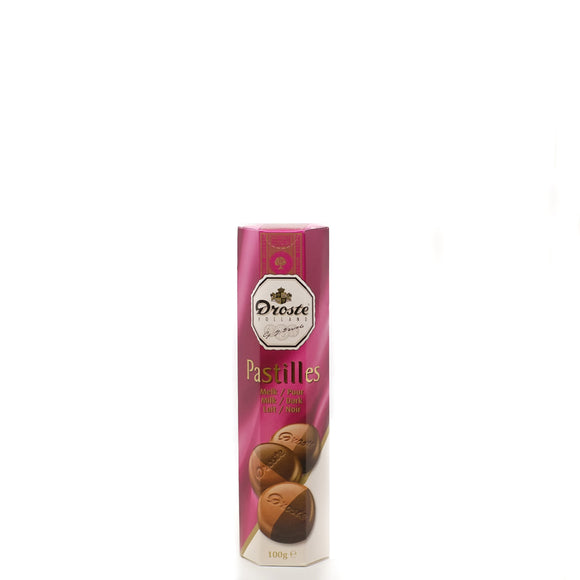 Droste Milk/Dark Chocolate Pastilles 100gr