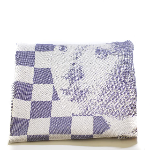 DDDDD Tea-towel Vermeer Blue
