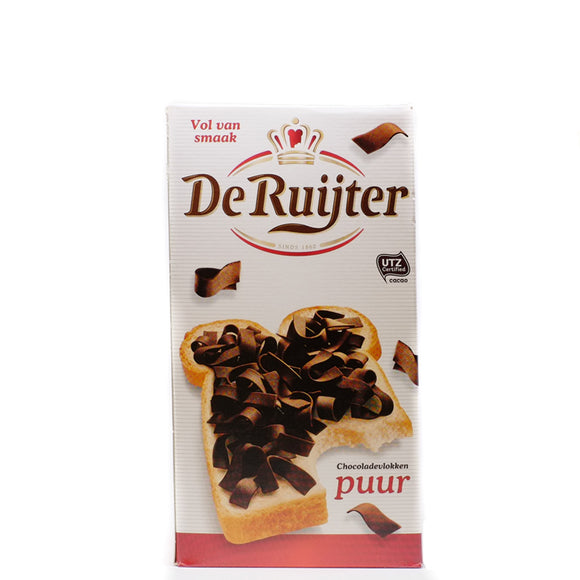 De Ruijter Dark Chocolate Flakes 300gr
