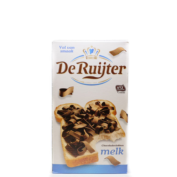 De Ruijter Milk Chocolate Flakes 300gr