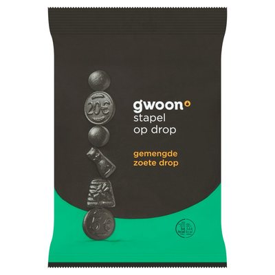 G'woon Mixed Sweet Liquorice 400gr