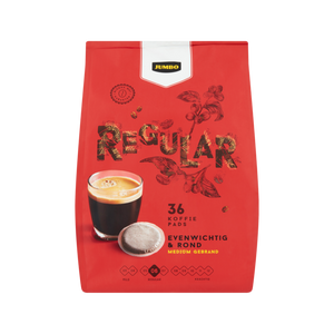 Jumbo Coffee Pads Regular 250gr