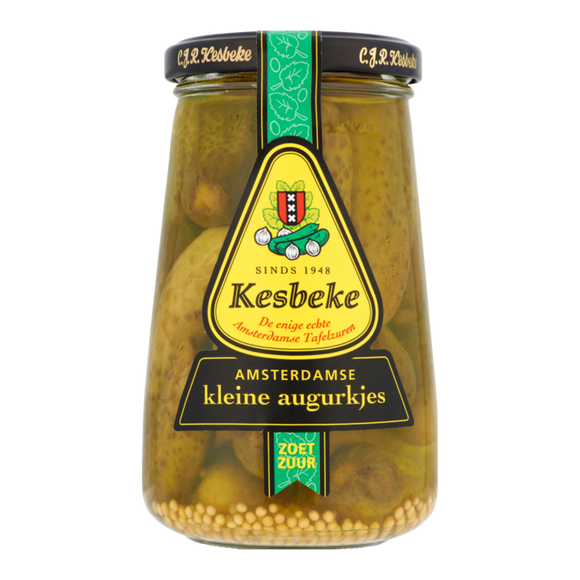 Kesbeke Amsterdam Small Gherkins 370ml