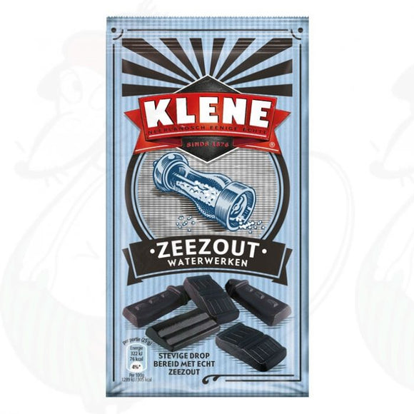 Klene Sea Salt Liquorice 200gr