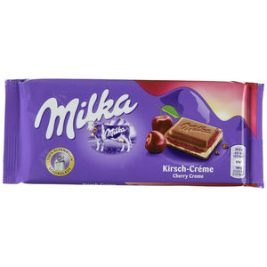 Milka Chocolate Cherry Creme 167gr